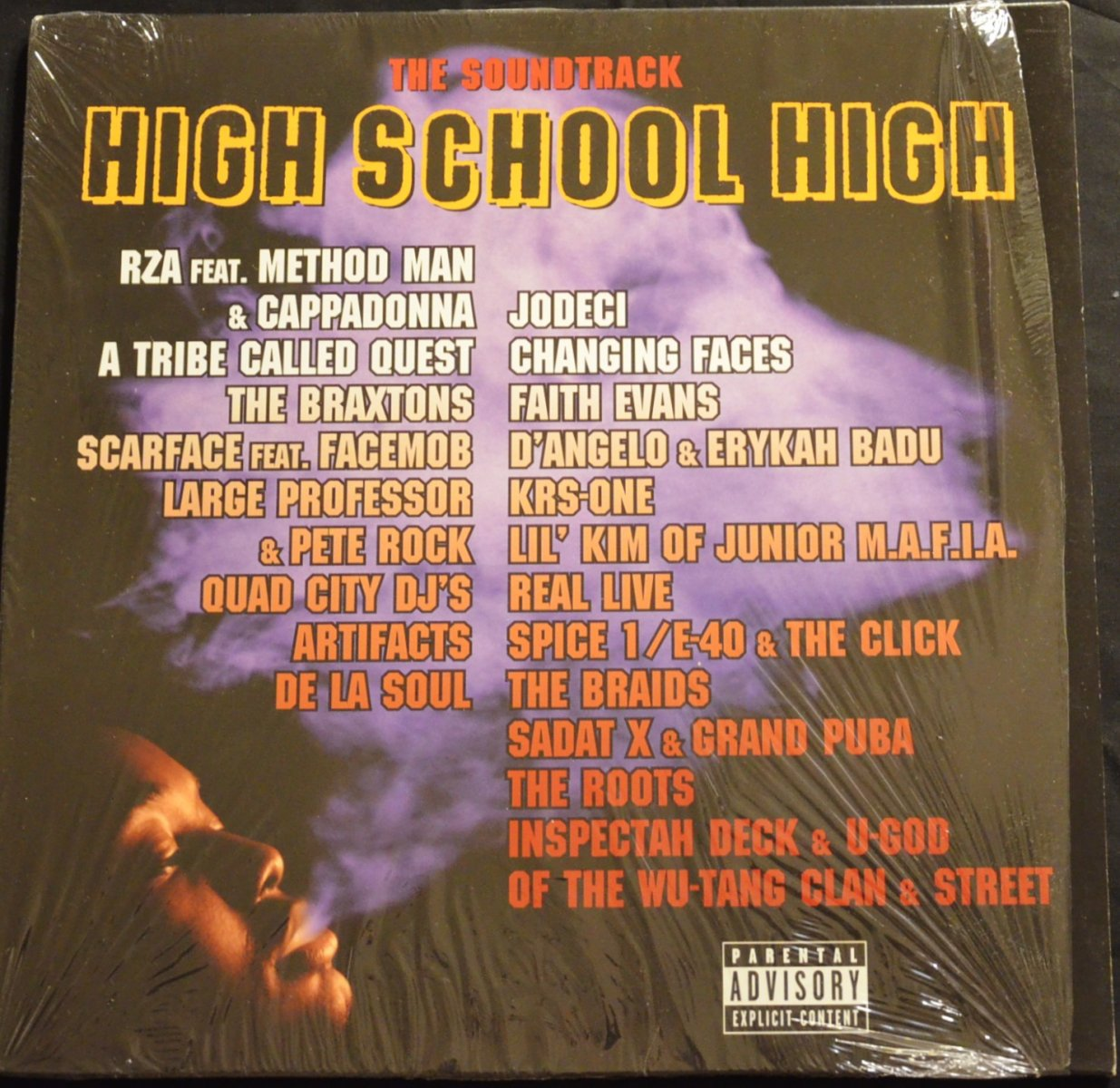 V.A. (LARGE PROFESSOR & PETE ROCK,A TRIBE CALLED QUEST...) / HIGH SCHOOL HIGH - THE SOUNDTRACK (2LP)