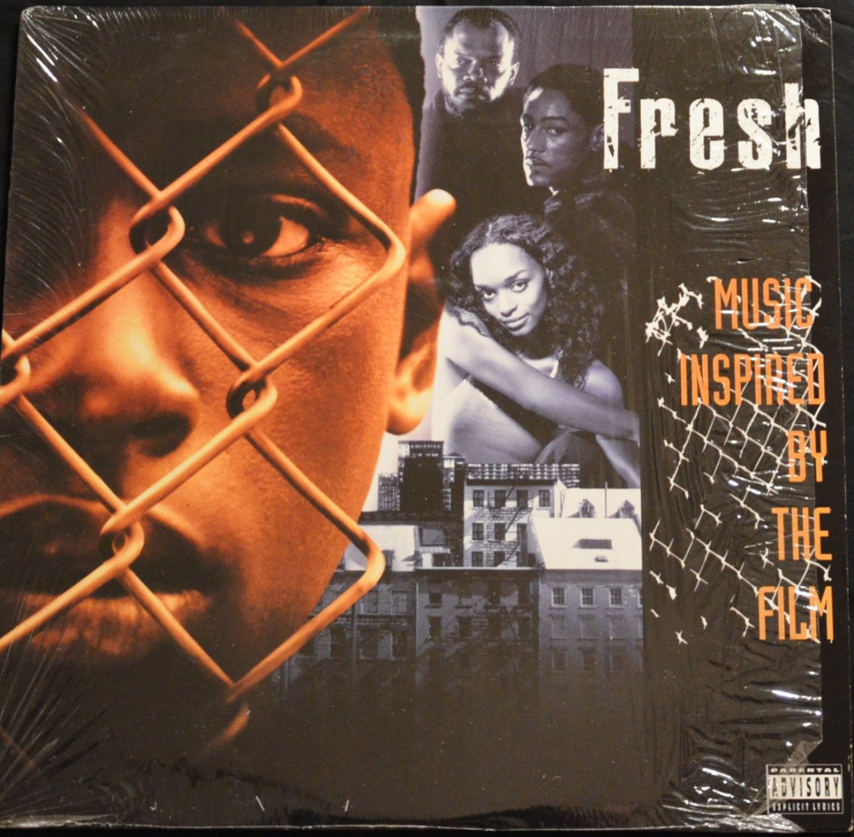 V.A.(GENIUS,RAEKWON,WU-TANG CLAN) / FRESH - MUSIC INSPIRED BY THE FILM (1LP)