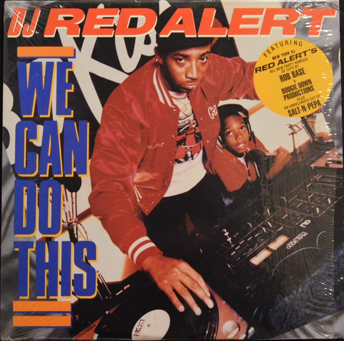 DJ RED ALERT / WE CAN DO THIS (2LP)
