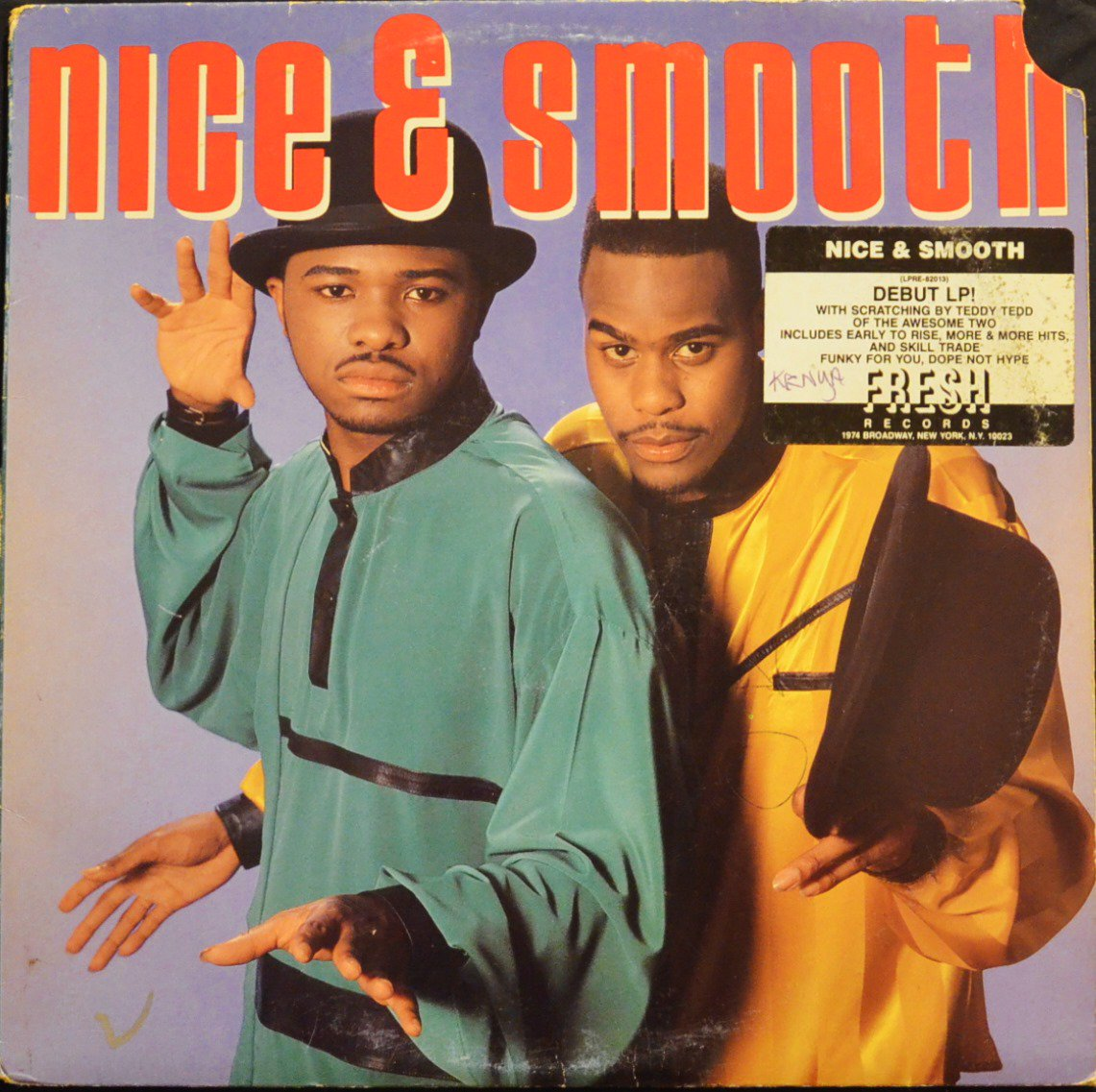 NICE & SMOOTH ‎/ NICE & SMOOTH (1LP)