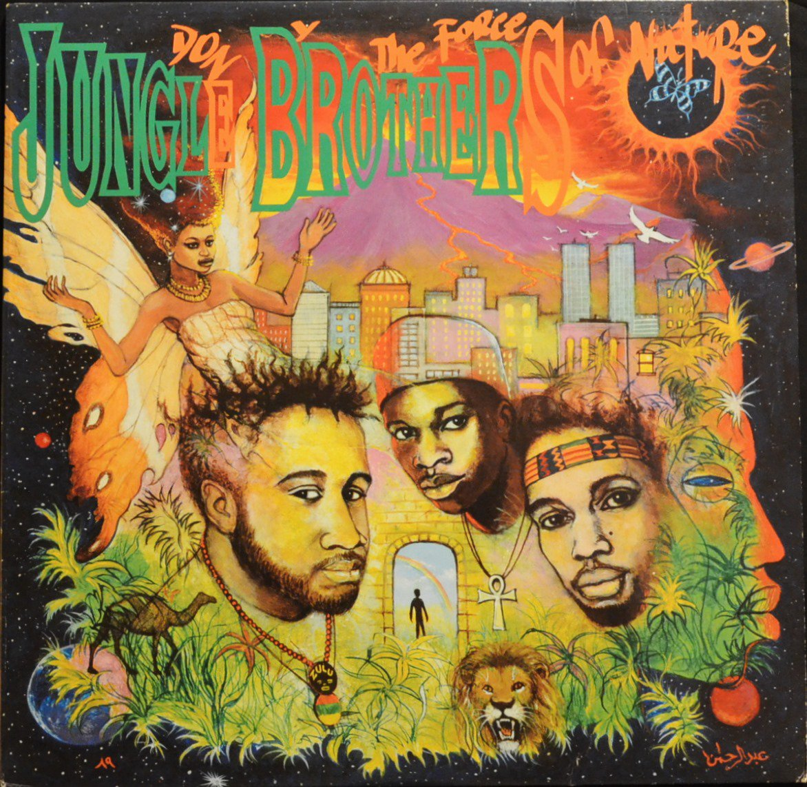 JUNGLE BROTHERS / DONE BY THE FORCES OF NATURE (1LP)