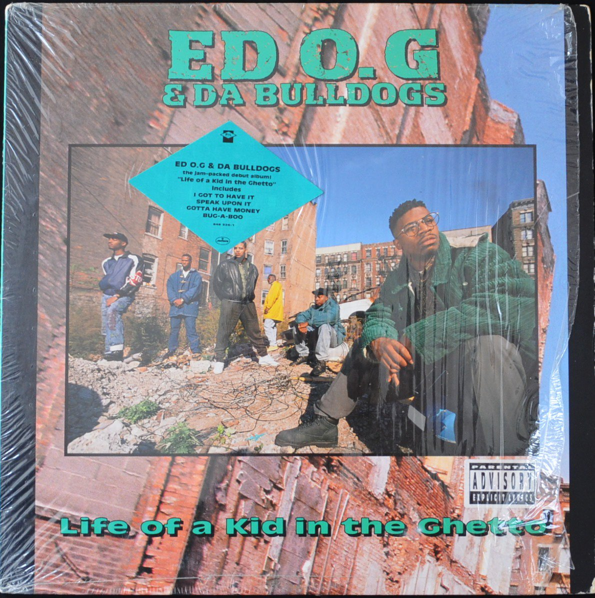 ED O.G & DA BULLDOGS ‎/ LIFE OF A KID IN THE GHETTO (1LP)