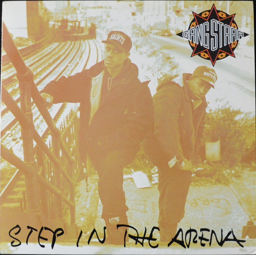 GANG STARR / STEP IN THE ARENA (1LP)