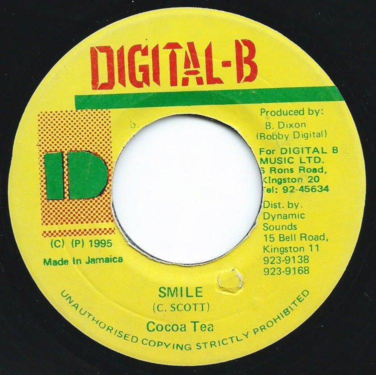 COCOA TEA ‎/ SMILE / BREAKING UP / NEVER GIVE UP (VERSION) (7
