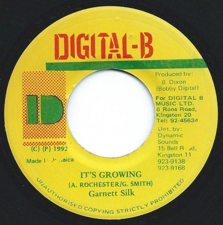 GARNETT SILK / IT'S GROWING / MOVING AWAY (VERSION) (7