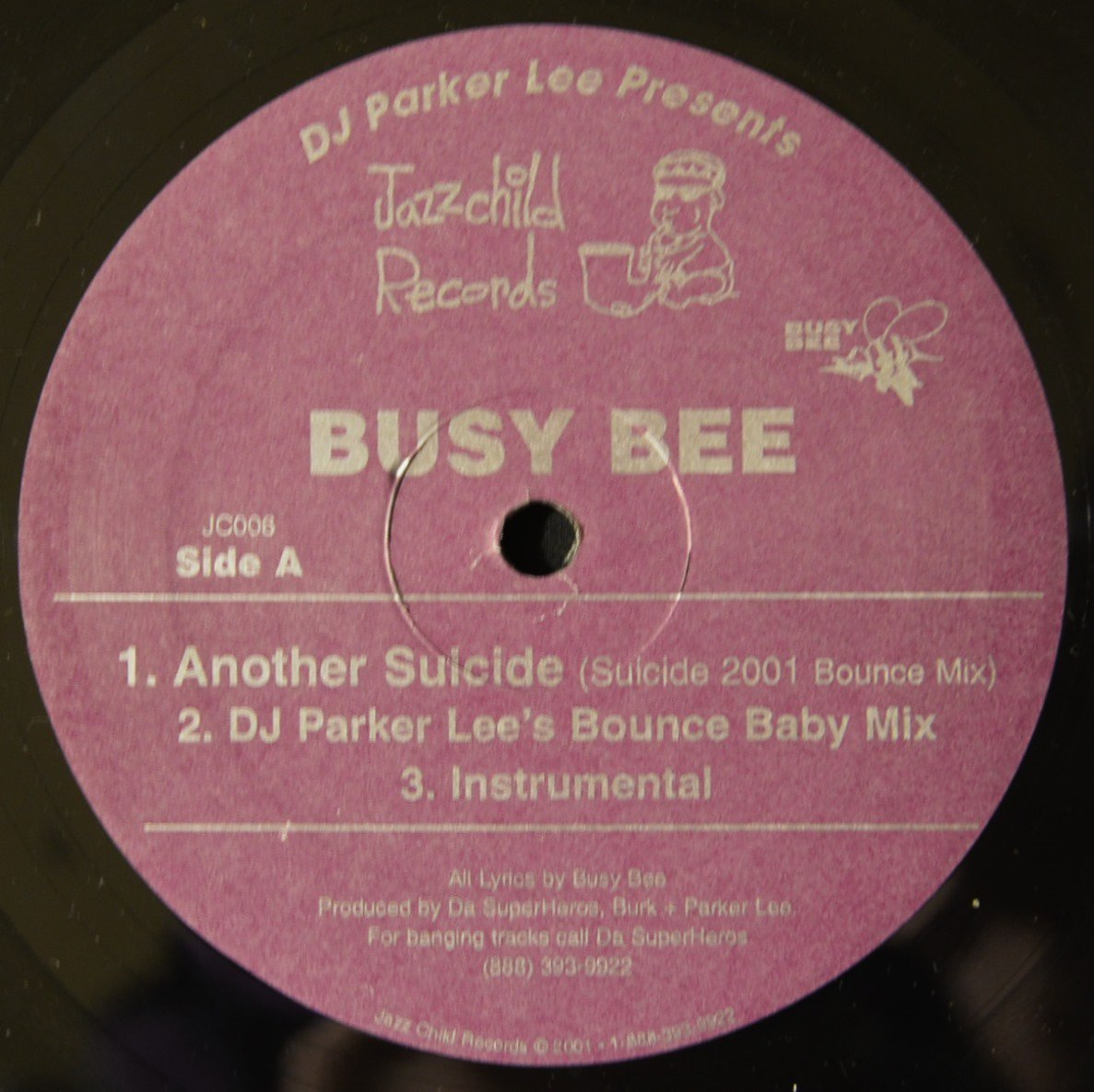 BUSY BEE ‎/ ANOTHER SUICIDE (12