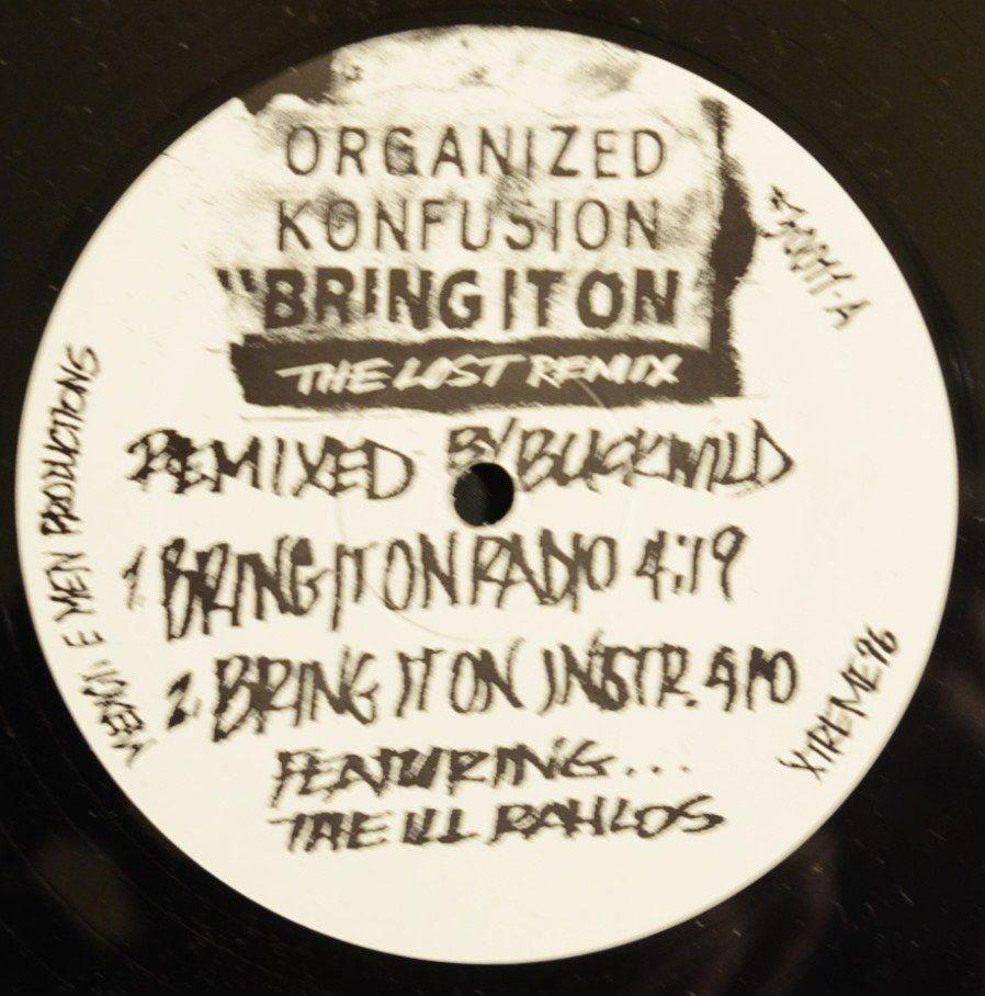 ORGANIZED KONFUSION ‎/ BRING IT ON (THE LOST REMIX) (12