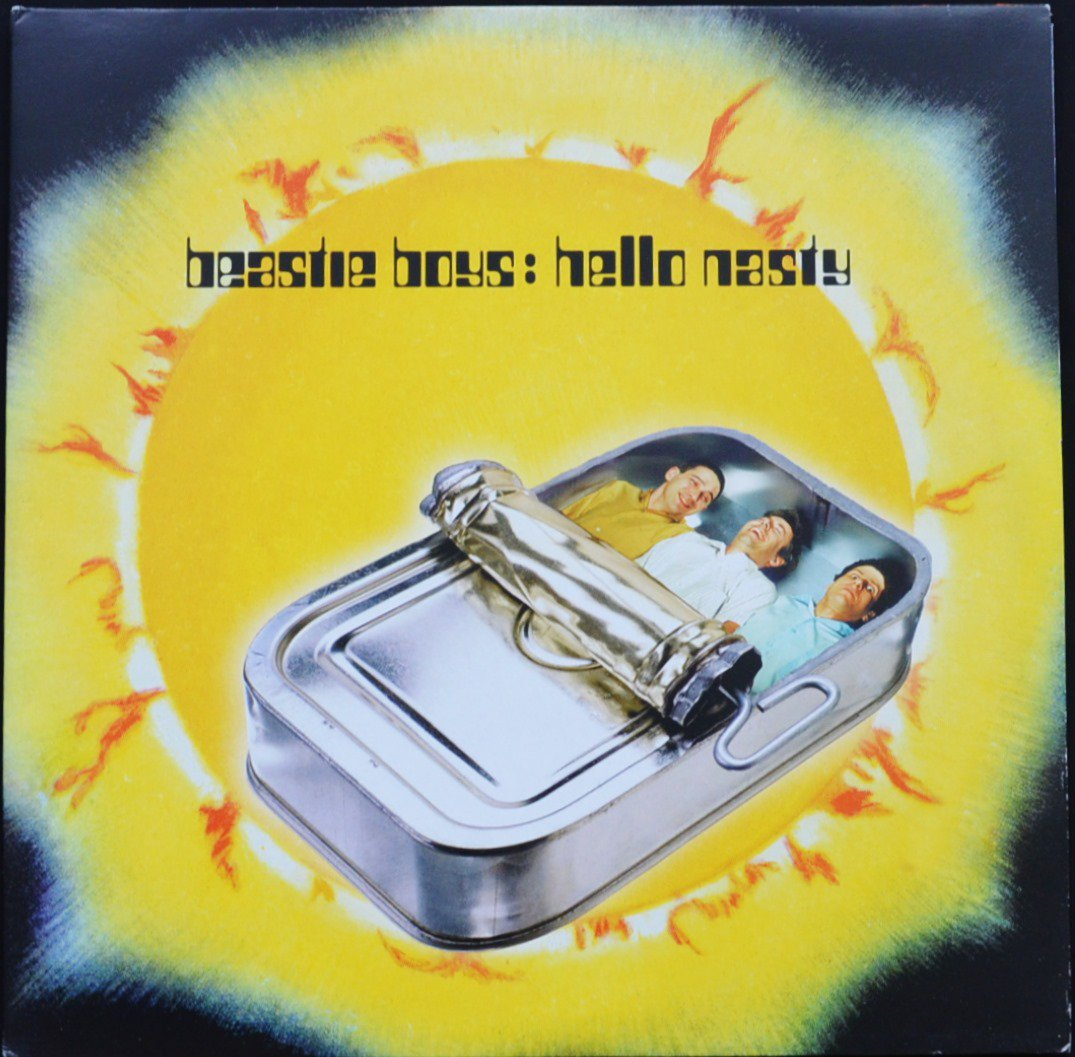 BEASTIE BOYS / HELLO NASTY - EU ORIGINAL (2LP)
