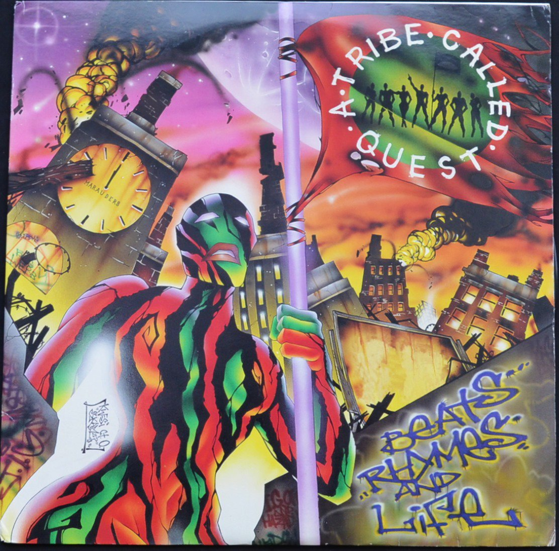 A TRIBE CALLED QUEST / BEATS RHYMES AND LIFE (LP)