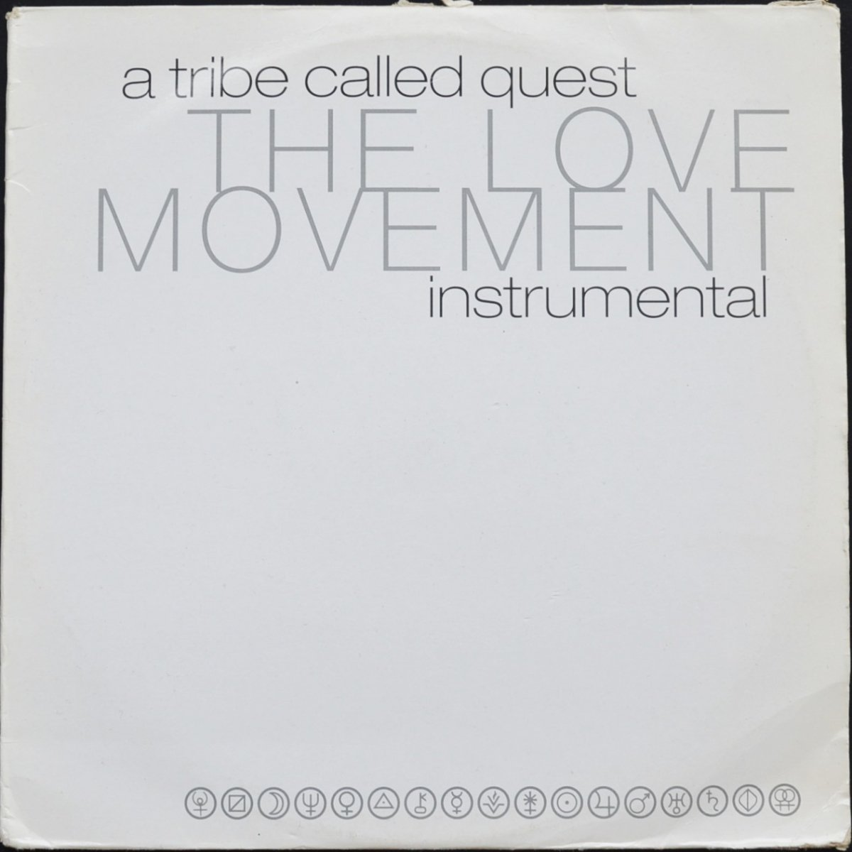 A TRIBE CALLED QUEST / THE LOVE MOVEMENT INSTRUMENTAL (2LP)