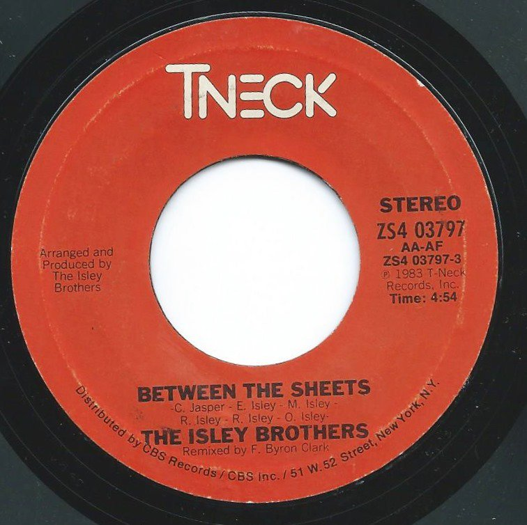 THE ISLEY BROTHERS / BETWEEN THE SHEETS (7