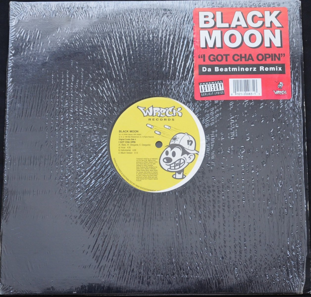 BLACK MOON / I GOT CHA OPIN (DA BEATMINERZ REMIX) / REALITY (KILLING EVERY...)  (12