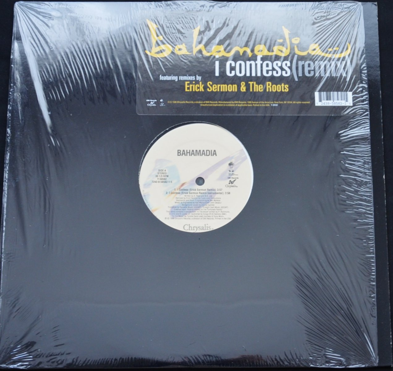 BAHAMADIA / I CONFESS (REMIX) (REMIX BY ERICK SERMON,THE ROOTS) (12