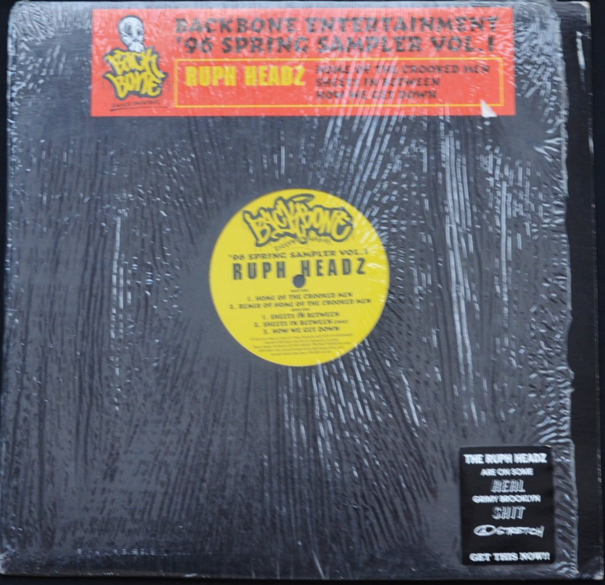 RUPH HEADZ ‎/ HOME OF THE CROOKED MEN (BACKBONE ENTERTAINMENT '96 SPRING SAMPLER VOL.1) (12