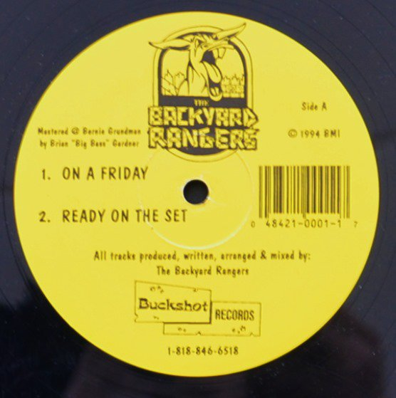 THE BACKYARD RANGERS / ON A FRIDAY / READY ON THE SET / 25 & ABOVE (12