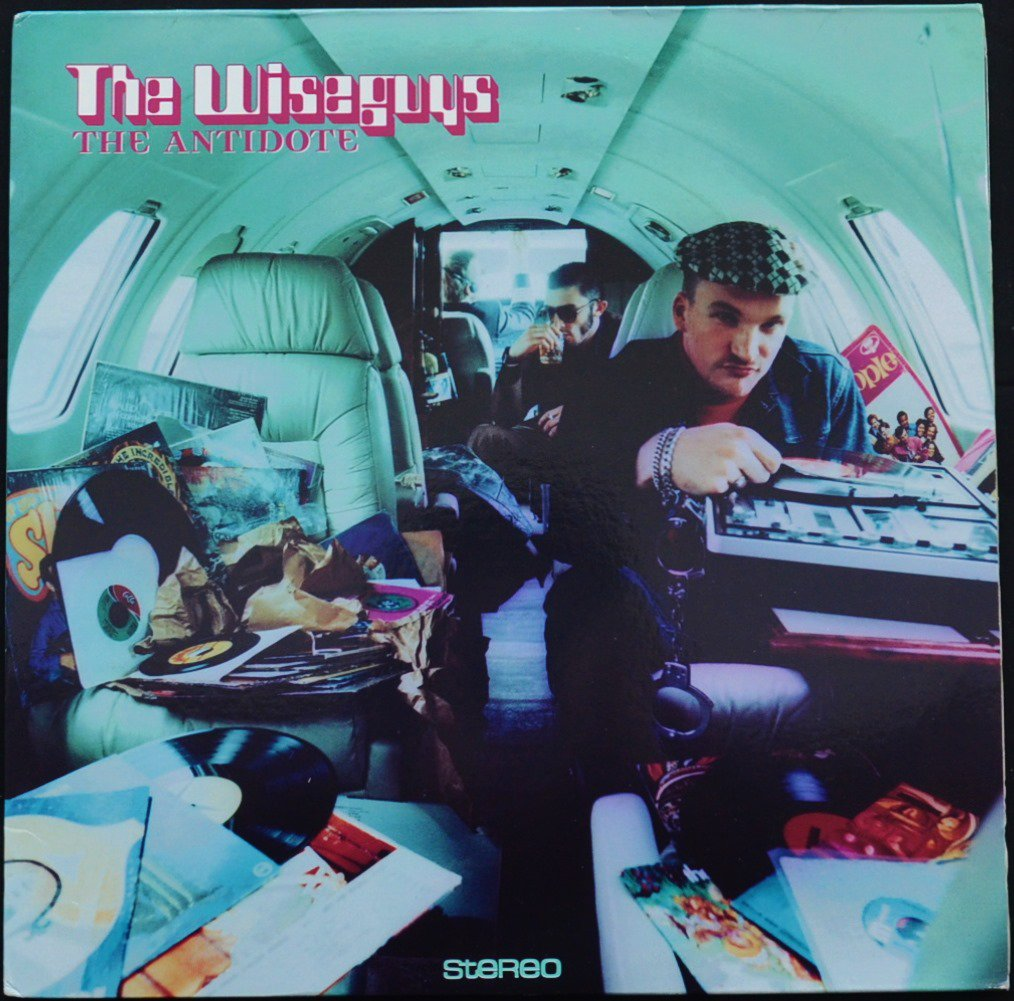 THE WISEGUYS ‎/ THE ANTIDOTE (2LP)
