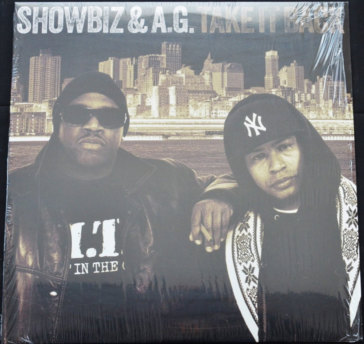 SHOWBIZ & A.G. ‎/ TAKE IT BACK (1LP)