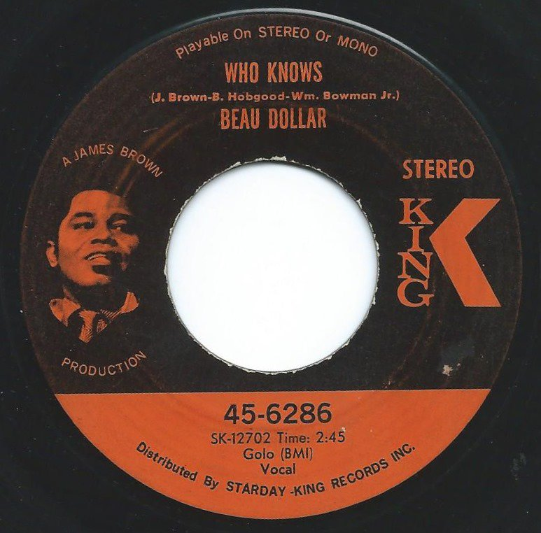 BEAU DOLLAR / WHO KNOWS / (I WANNA GO) WHERE THE SOUL TREES GROW (7