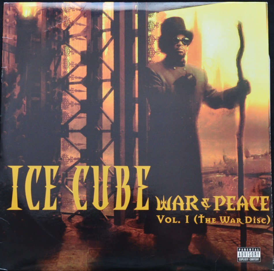 ICE CUBE / WAR & PEACE VOL. 1 (THE WAR DISC) (2LP)