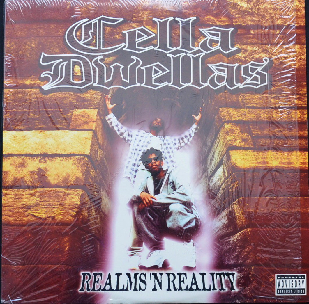 CELLA DWELLAS ‎/ REALMS 'N REALITY (2LP)
