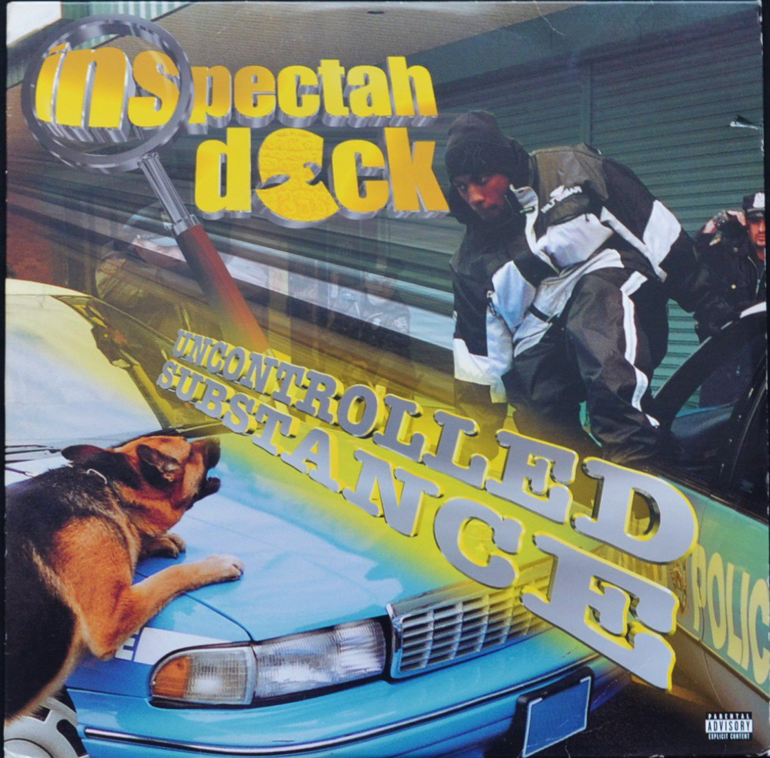 INSPECTAH DECK ‎/ UNCONTROLLED SUBSTANCE (2LP)