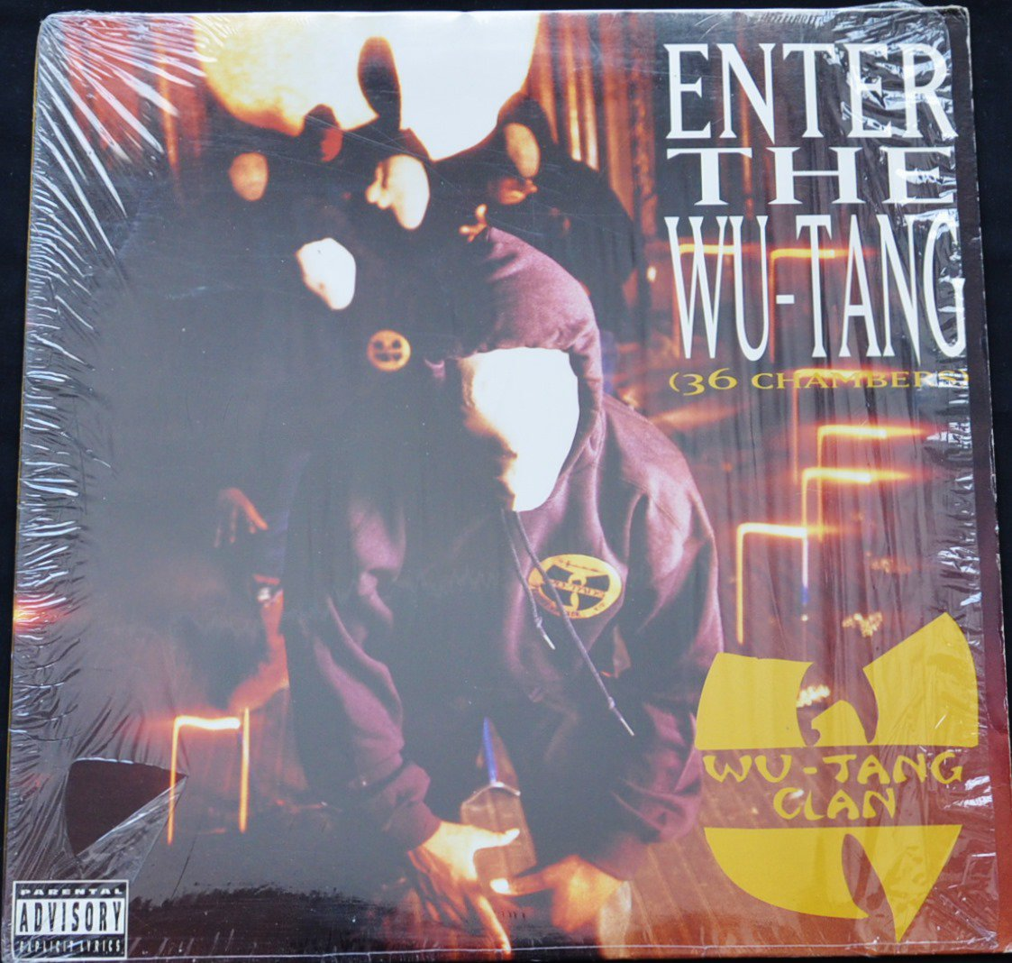 WU-TANG CLAN / ENTER THE WU-TANG (36 CHAMBERS) (1LP)