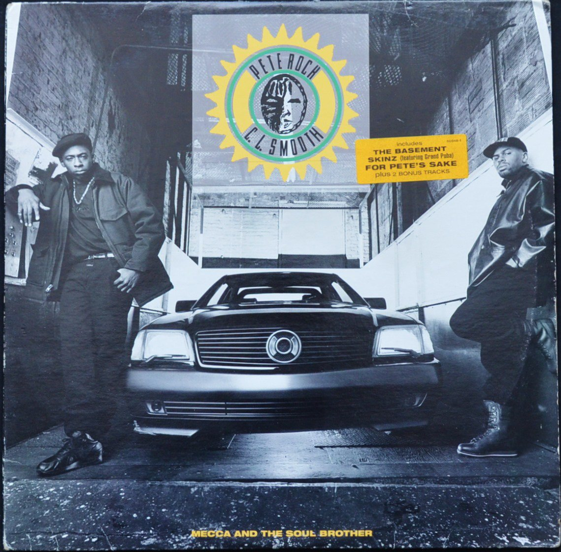 PETE ROCK & C.L. SMOOTH ‎/ MECCA AND THE SOUL BROTHER (2LP)
