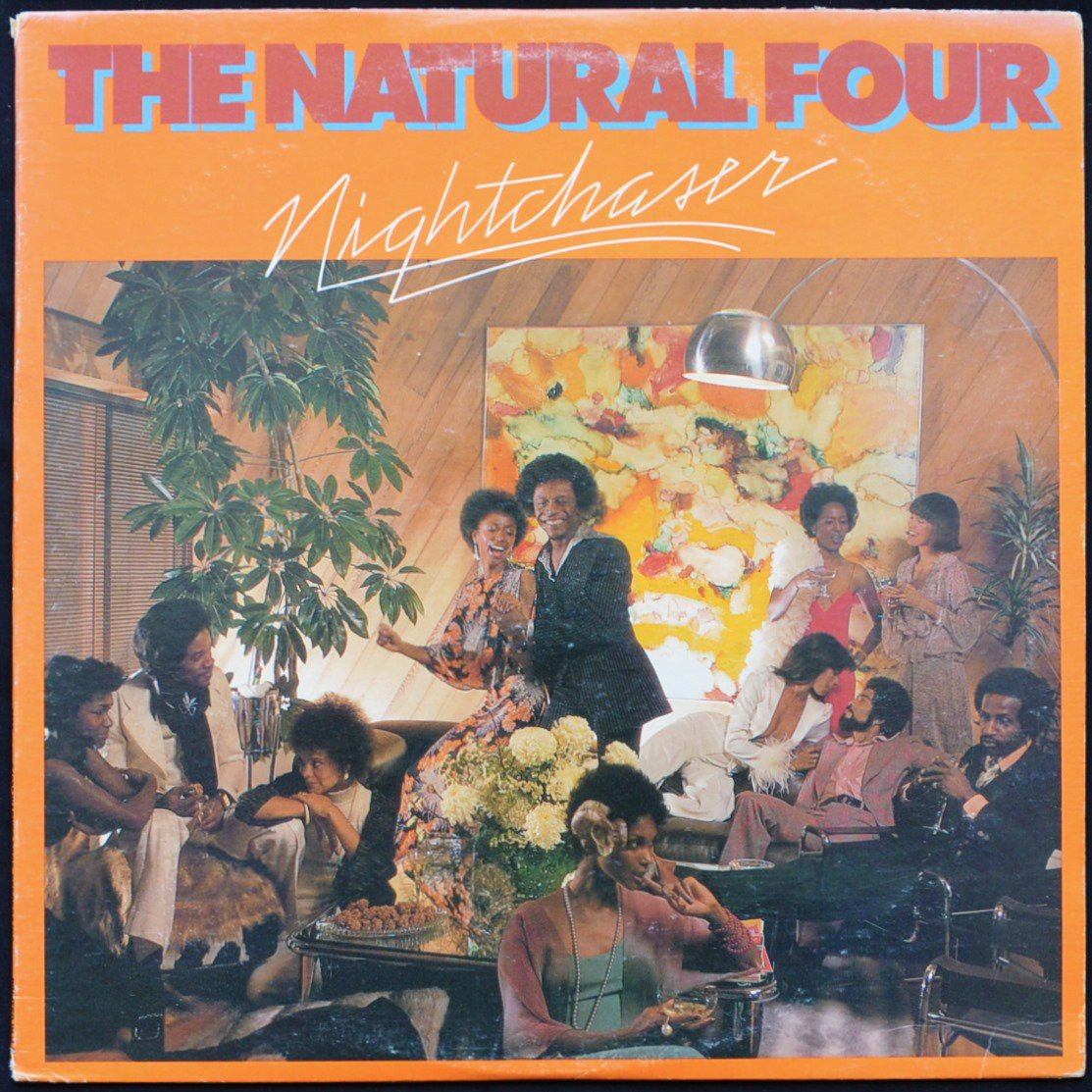 THE NATURAL FOUR ‎/ NIGHTCHASER (LP)