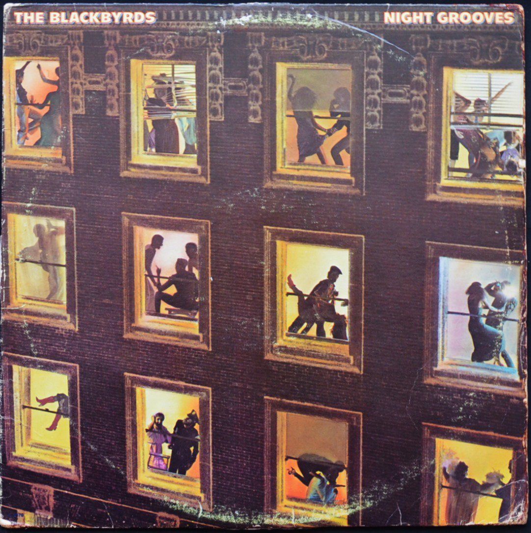 THE BLACKBYRDS ‎/ NIGHT GROOVES (LP)