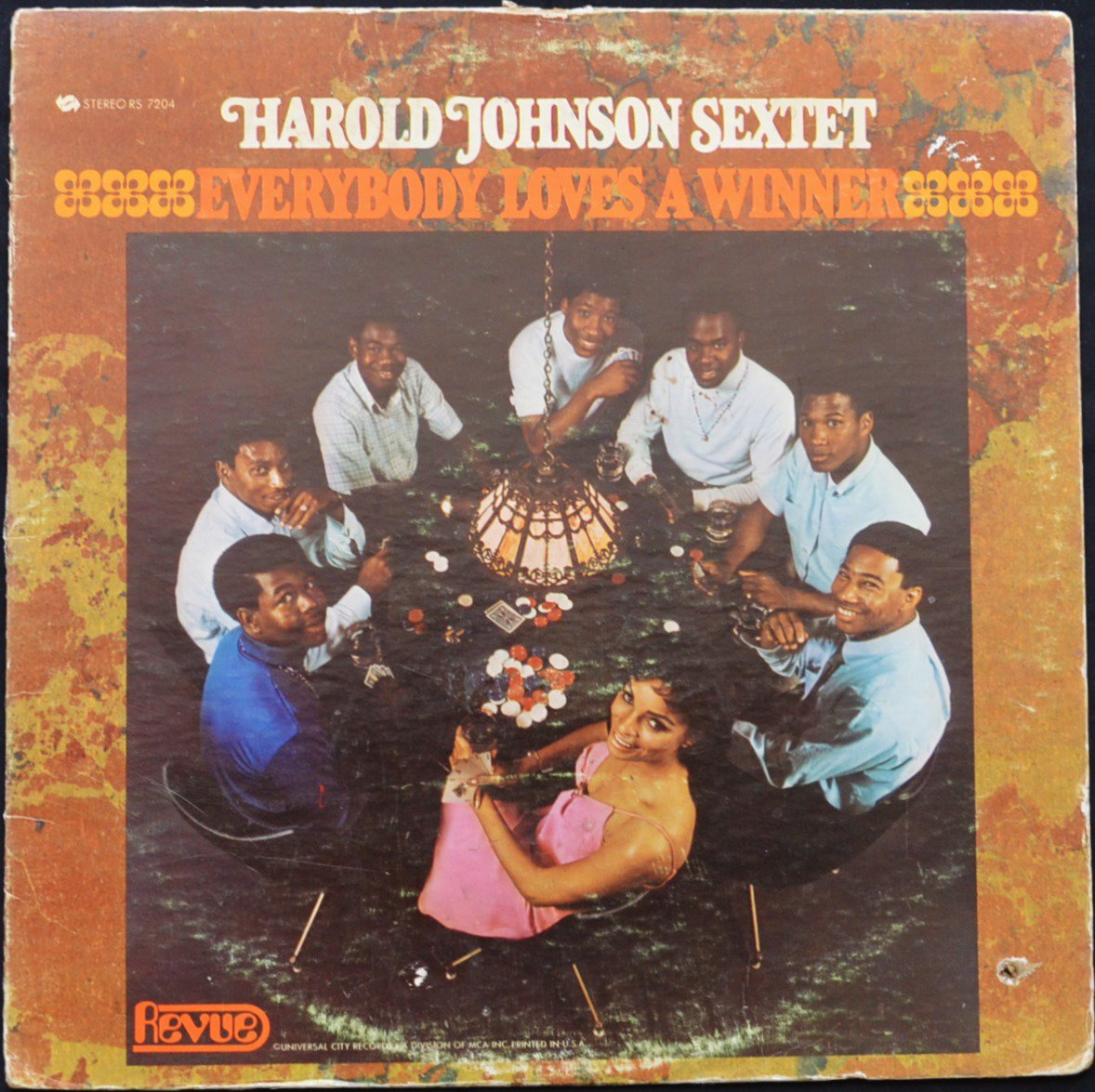 HAROLD JOHNSON SEXTET ‎/ EVERYBODY LOVES A WINNER (LP)