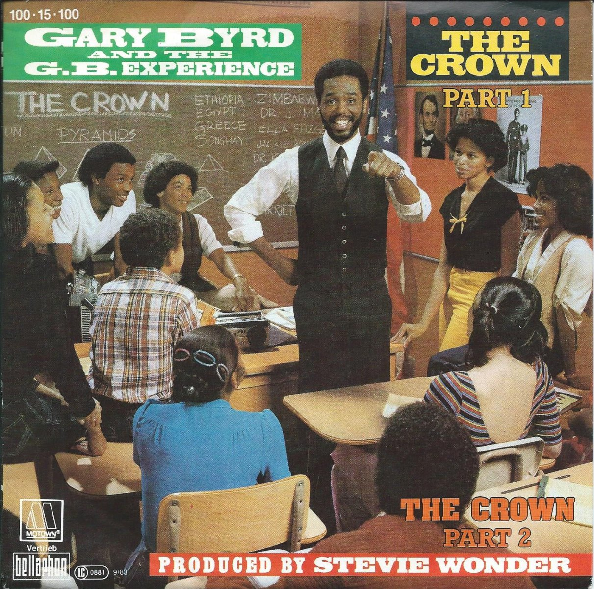 GARY BYRD AND THE G.B. EXPERIENCE / THE CROWN (7