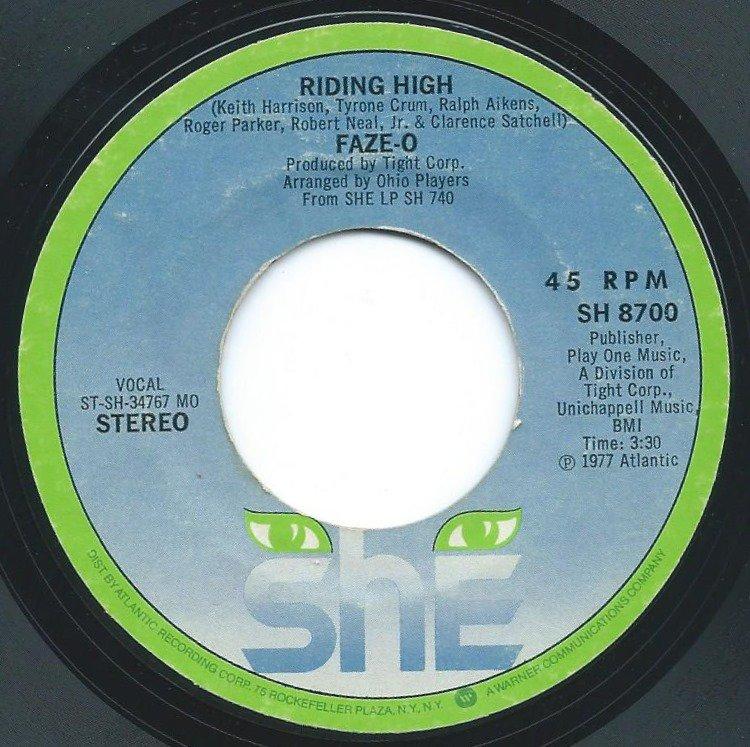 FAZE-O / RIDING HIGH / TRUE LOVE (7