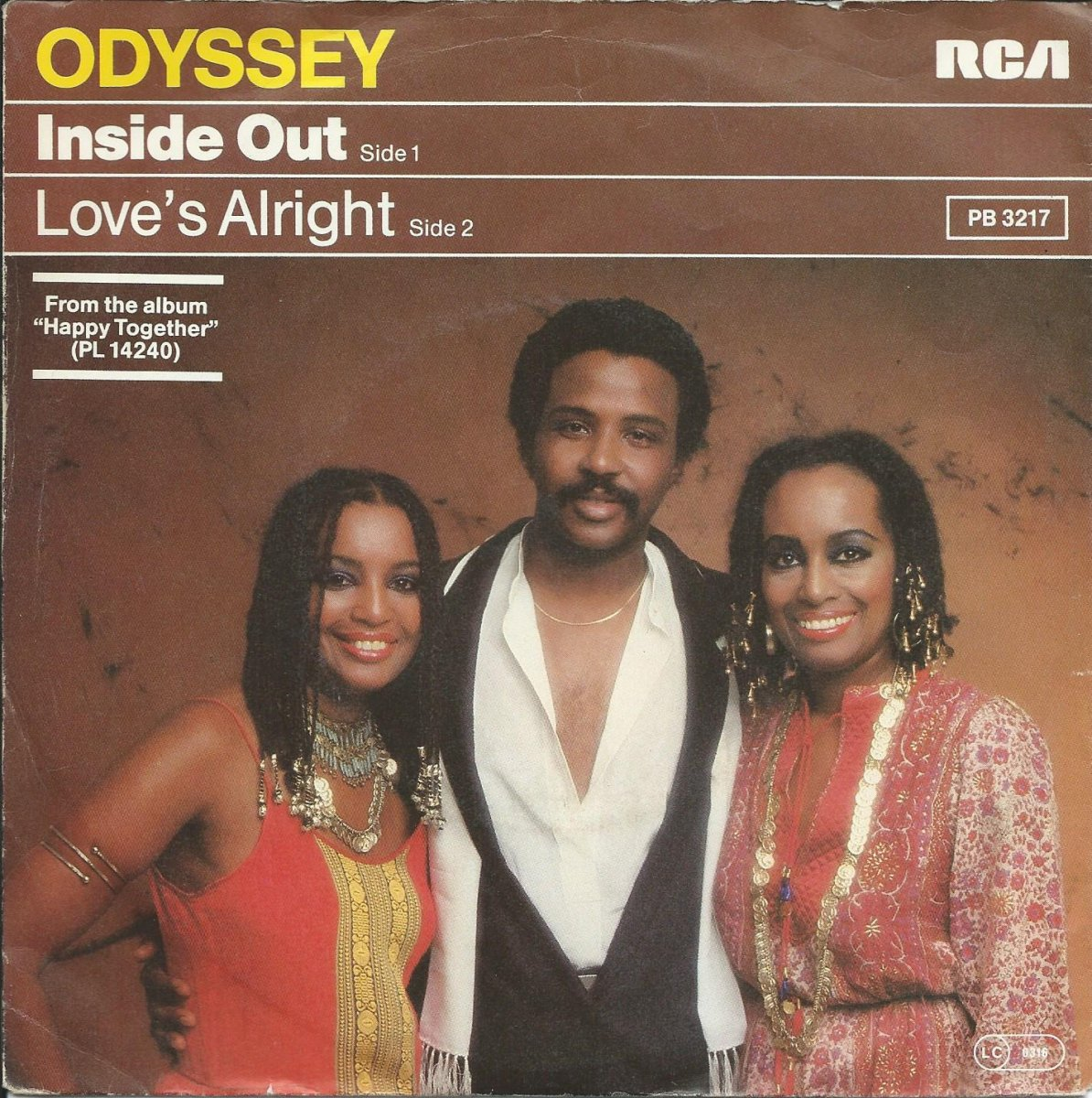 ODYSSEY / INSIDE OUT / LOVE'S ALRIGHT (7