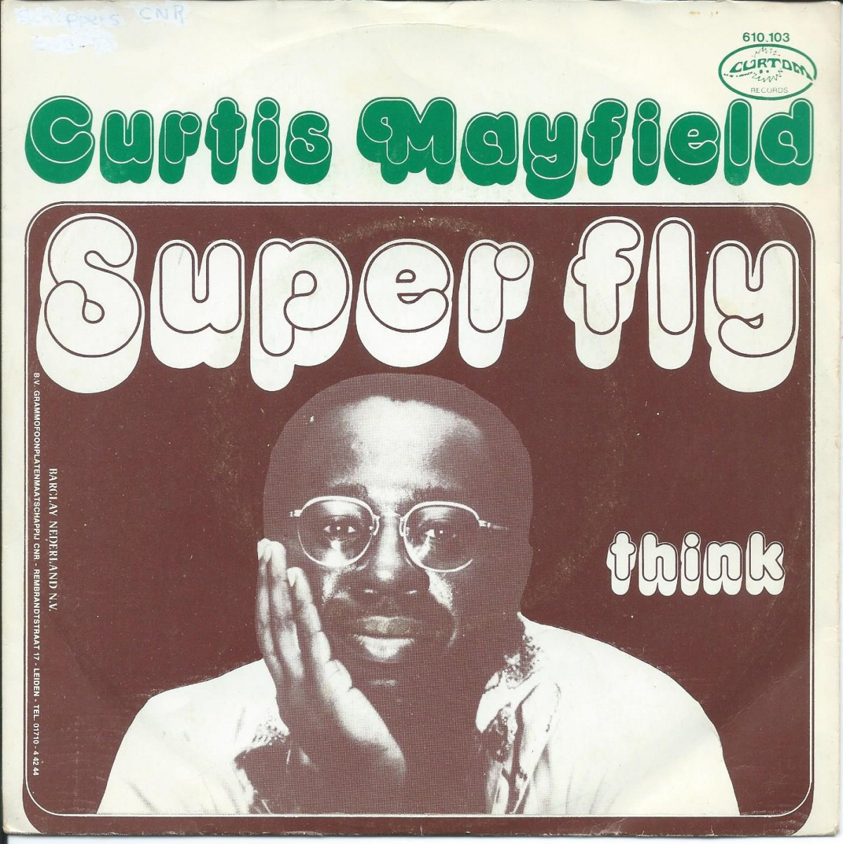 CURTIS MAYFIELD ‎/ SUPERFLY / THINK (INSTRUMENTAL) (7