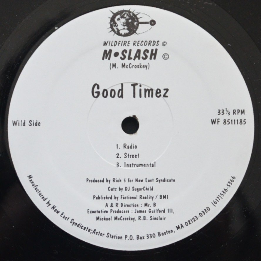 M•SLASH / GOOD TIMEZ / FEEL IT! (12