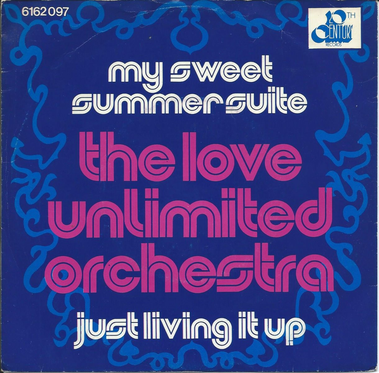 LOVE UNLIMITED ORCHESTRA ‎/ MY SWEET SUMMER SUITE / JUST LIVING IT UP (7