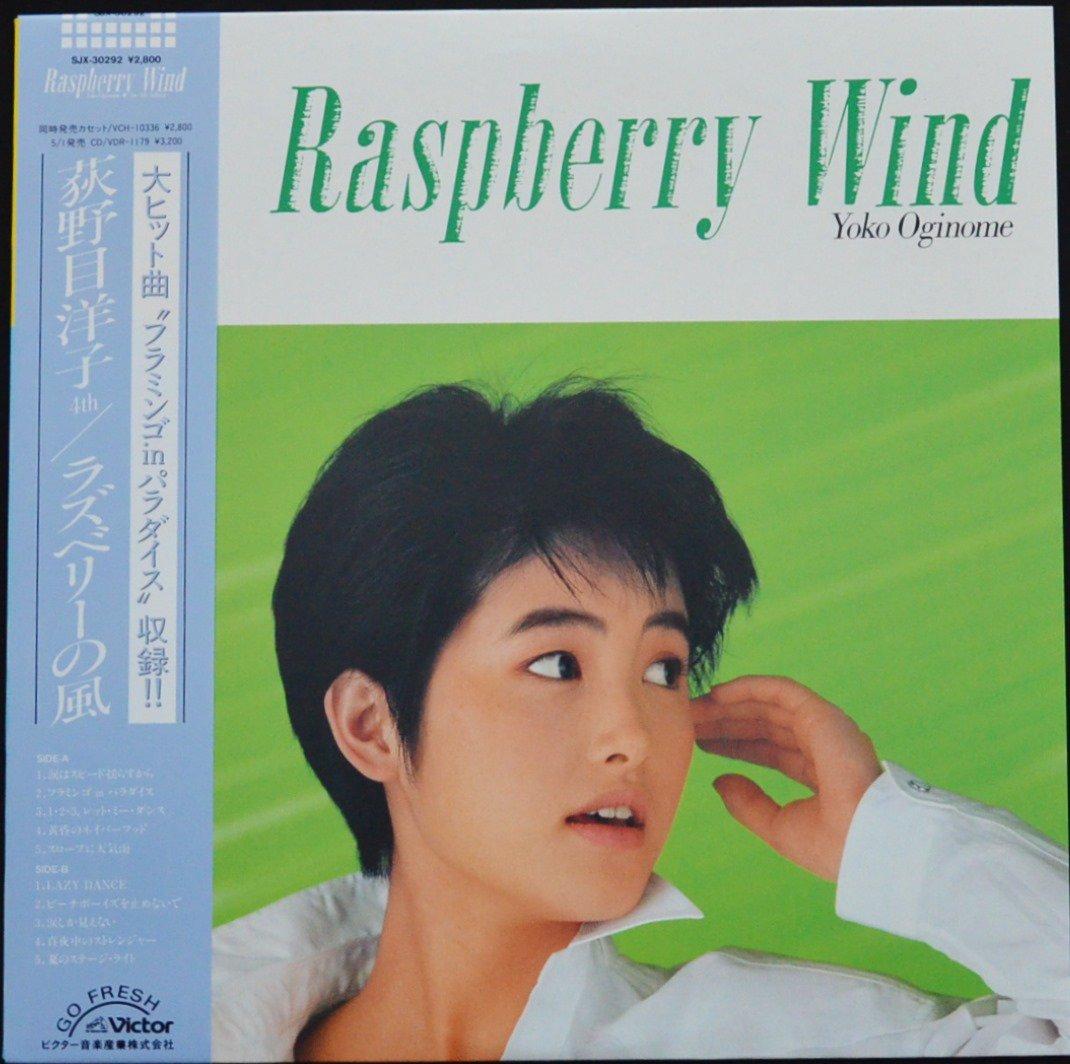荻野目洋子 YOKO OGINOME / ラズベリーの風 / RASPBERRY WIND (LP)