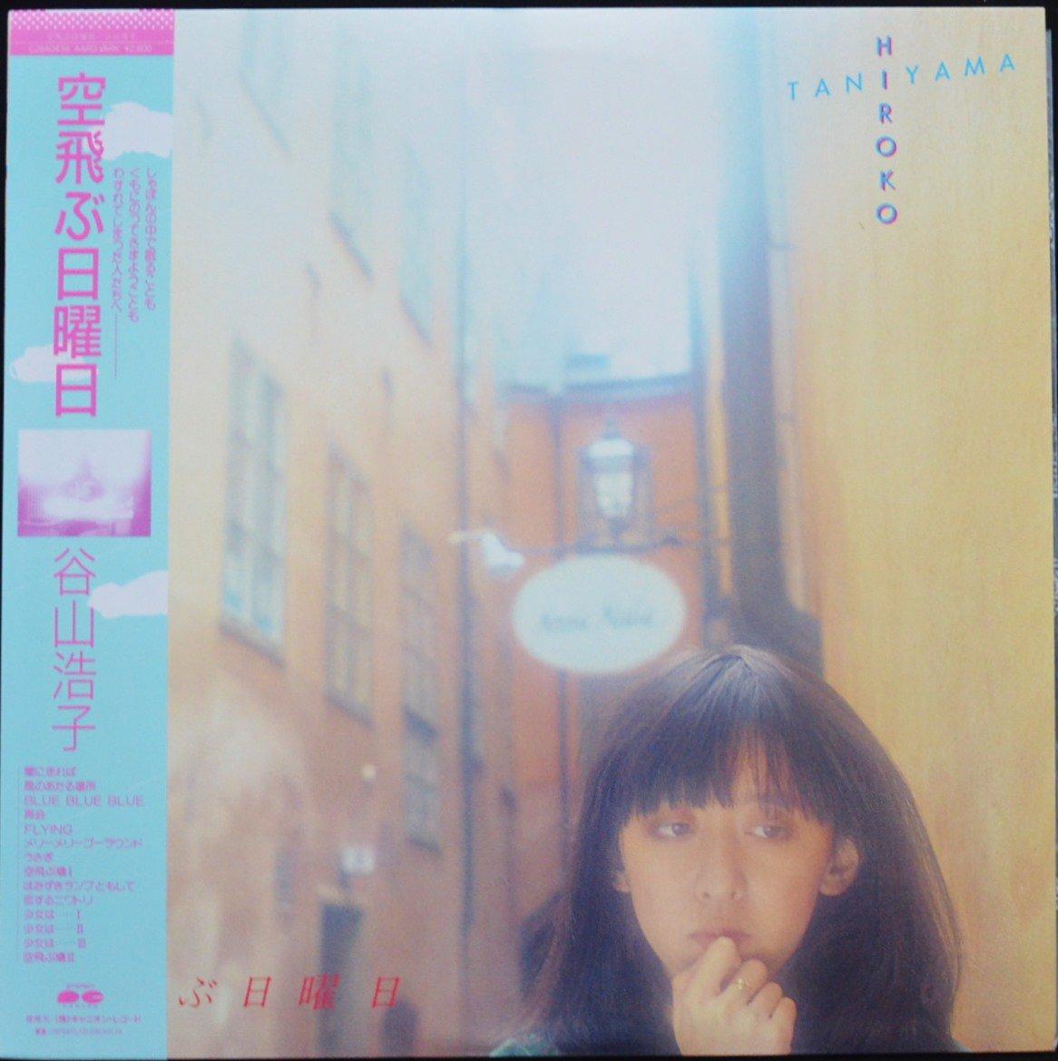 谷山浩子 HIROKO TANIYAMA / 空飛ぶ日曜日 (LP)