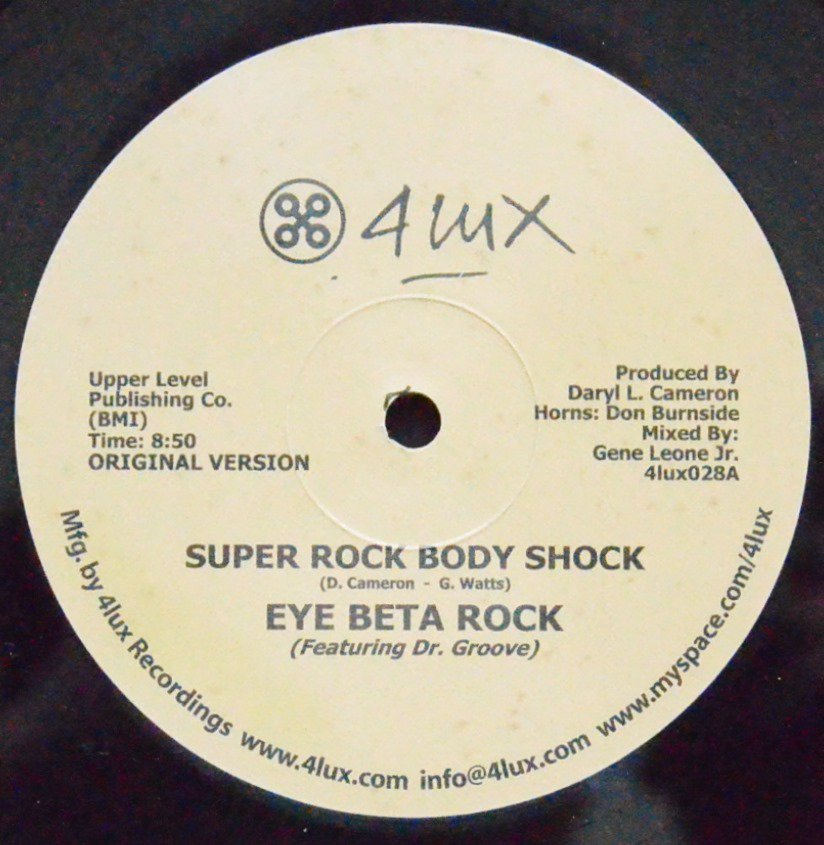EYE BETA ROCK ‎/ SUPER ROCK BODY SHOCK (12