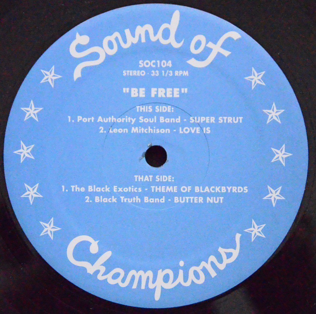 V.A.(PORT AUTHORITY SOUL BAND,LEON MITCHISON...) / SUPER STRUT / LOVE IS (BE FREE) (12