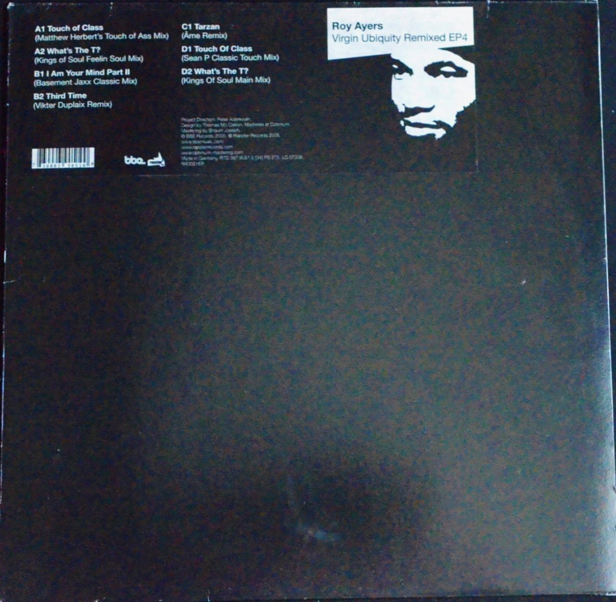 ROY AYERS / VIRGIN UBIQUITY REMIXED EP 4 (2×12