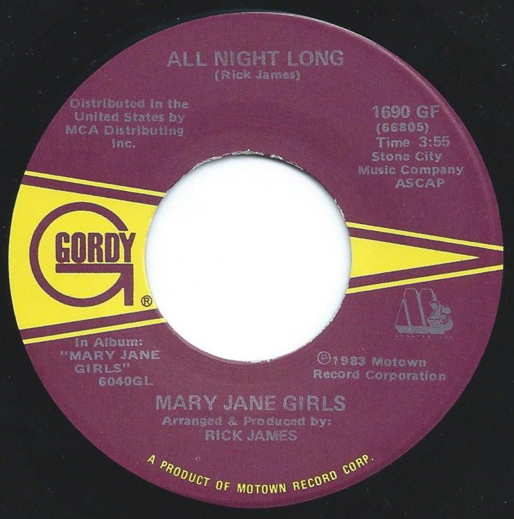 MARY JANE GIRLS ‎/ ALL NIGHT LONG (7