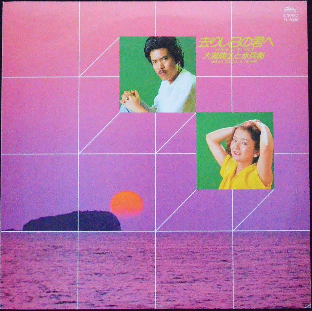 大潟瑞生と赤兵衛 MIZUO OGATA & AKABE / 去りし日の君へ SARISHIHI NO KIMIE (LP)