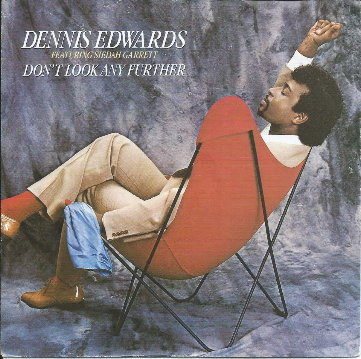 DENNIS EDWARDS / DON'T LOOK ANY FURTHER / I THOUGHT I COULD HANDLE IT (7