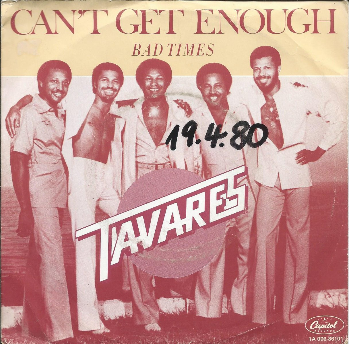 TAVARES / BAD TIMES / CAN'T GET ENOUGH (7
