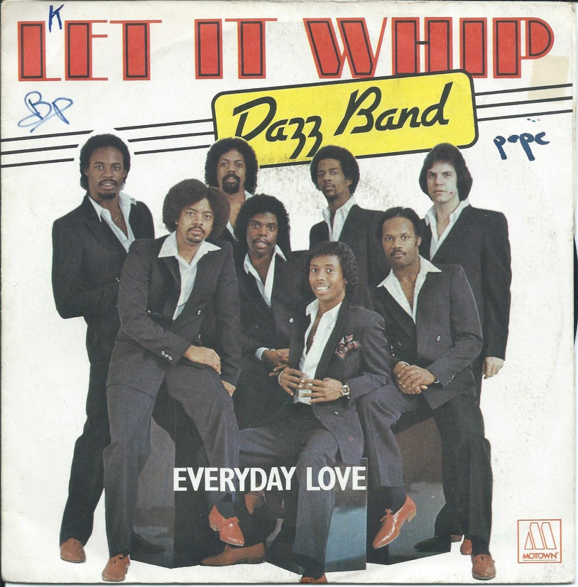 DAZZ BAND / LET IT WHIP / EVERYDAY LOVE (7