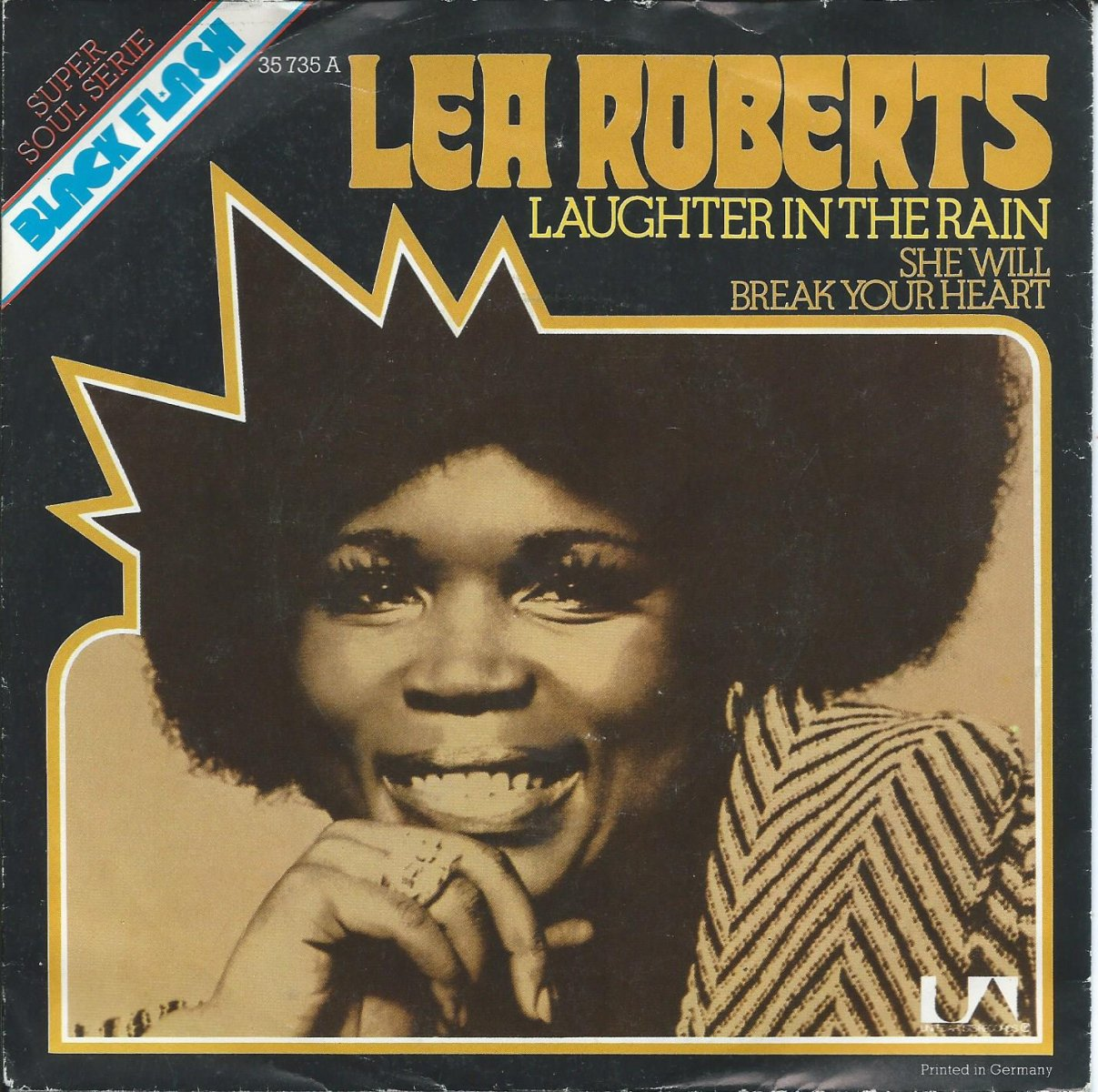 LEA ROBERTS ‎/ LAUGHTER IN THE RAIN / SHE WILL BREAK YOUR HEART (7