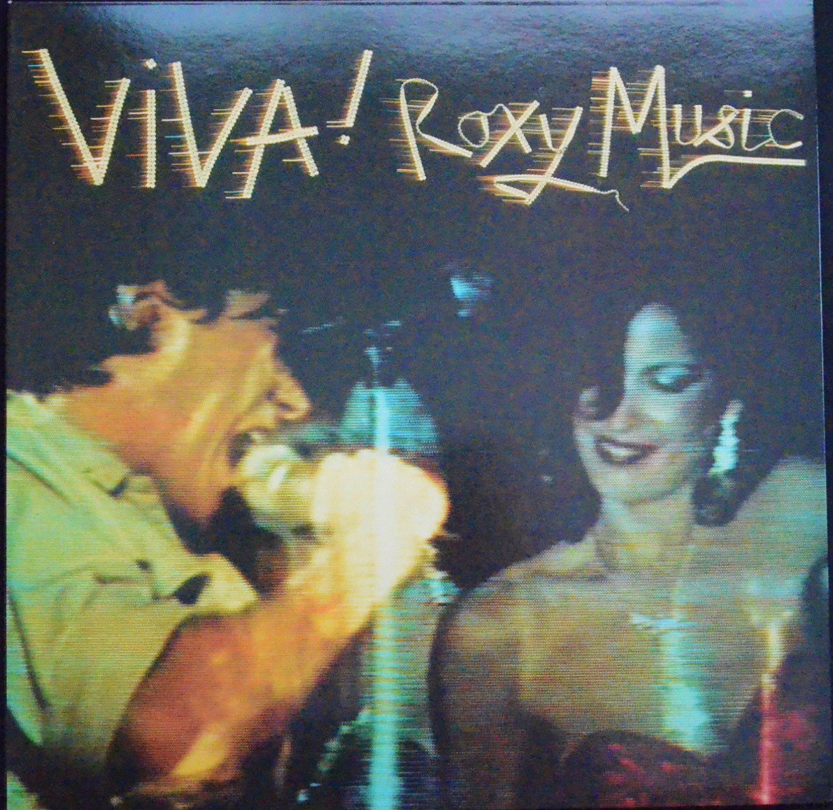 ROXY MUSIC ‎/ VIVA! ROXY MUSIC (THE LIVE ROXY MUSIC ALBUM) (LP)