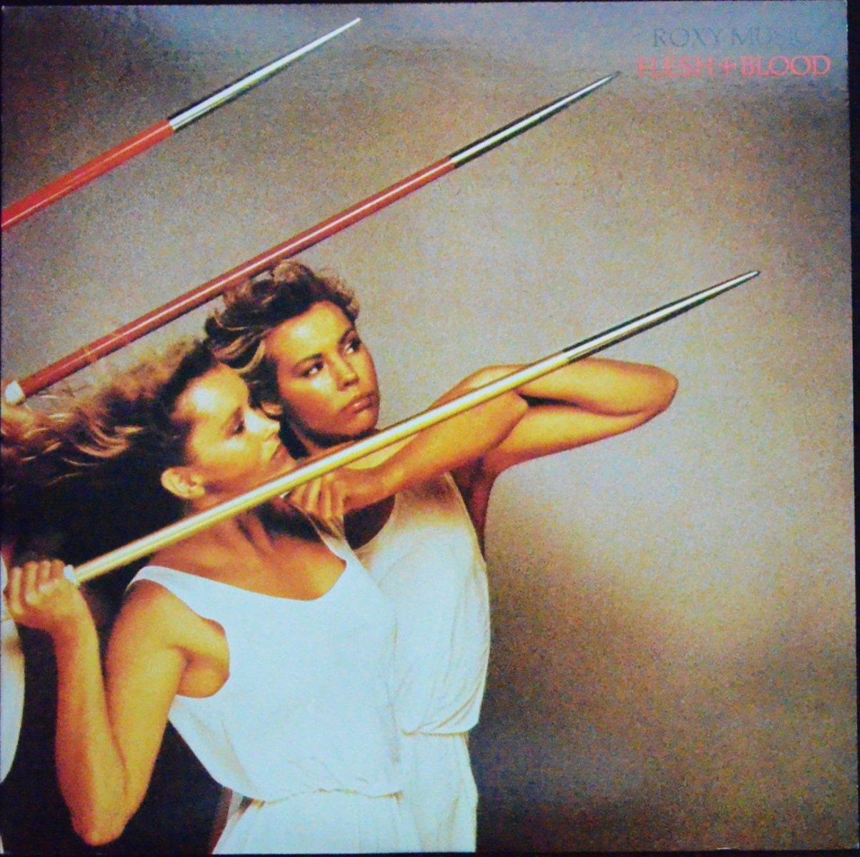 ロキシー・ミュージック ROXY MUSIC / フレッシュ・アンド・ブラッド FLESH + BLOOD (LP)
