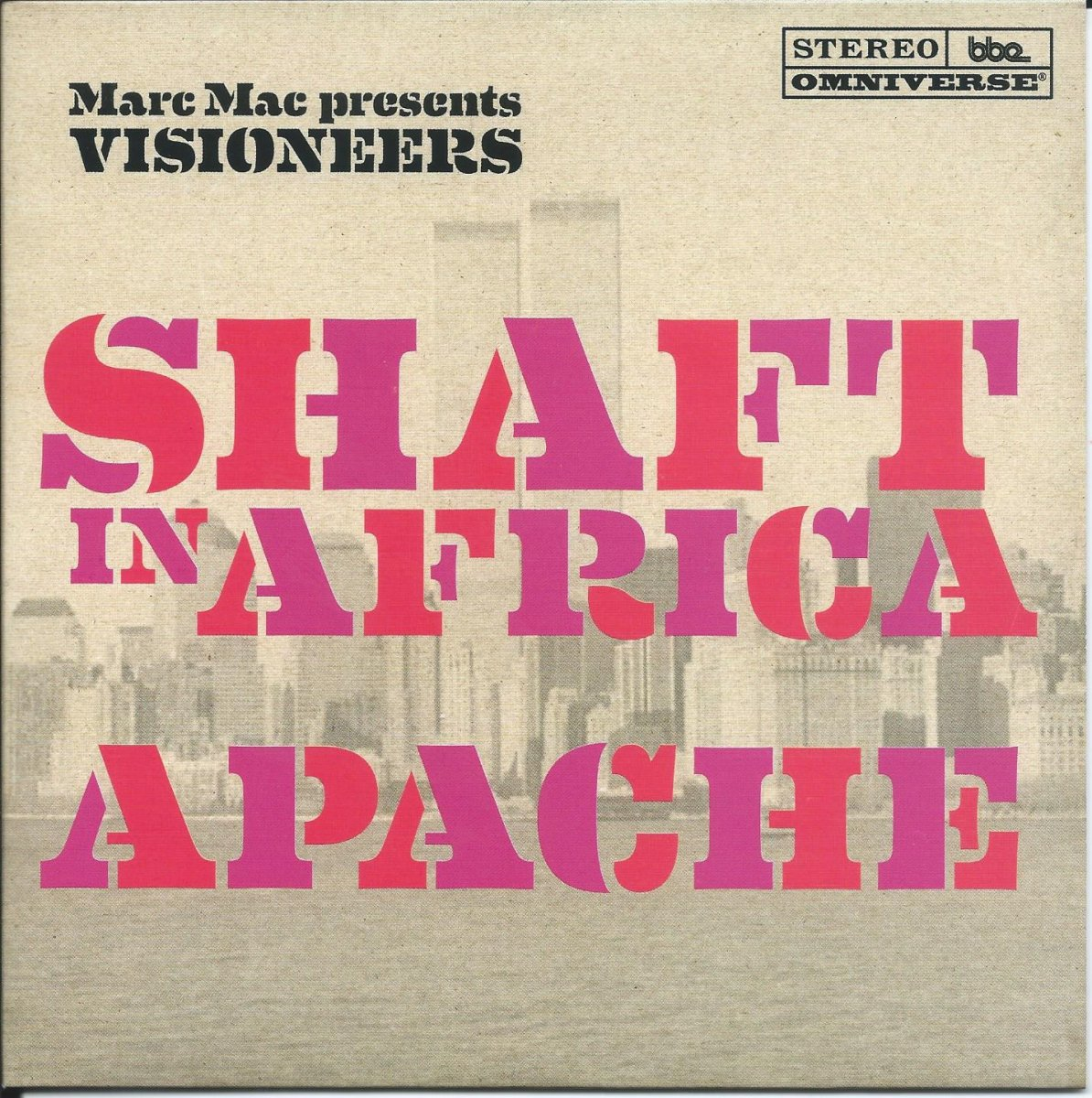 MARC MAC PRESENTS VISIONEERS ‎/ APACHE / SHAFT IN AFRICA (ADDIS) (7